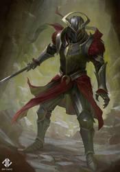 Red Knight by DeivCalviz