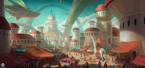 Amanith City by DeivCalviz