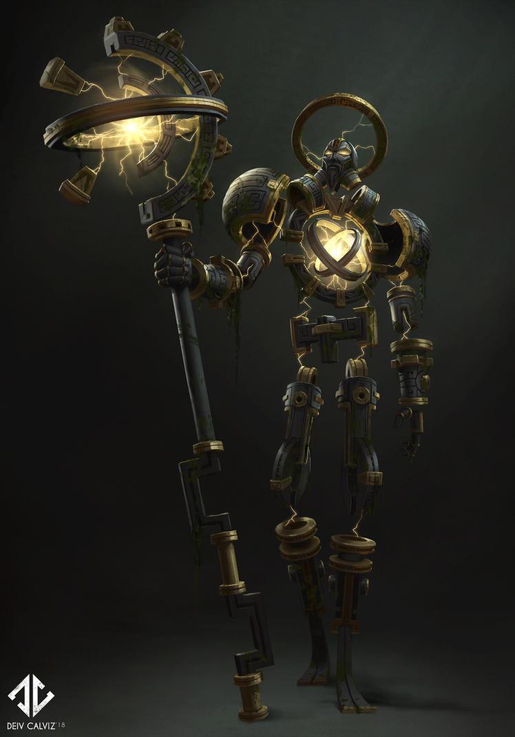 Ancient Titan by DeivCalviz