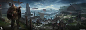 Viking Shipyard by DeivCalviz