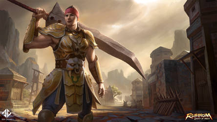 Metin 2 - Warrior Splash Art