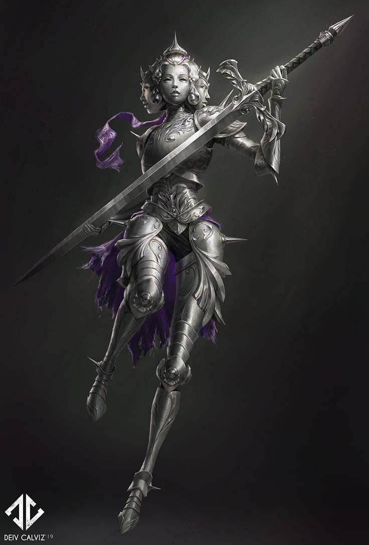 Knight Concept - Iron Maiden by DeivCalviz