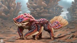 Creature Design - Scaly Omnivore