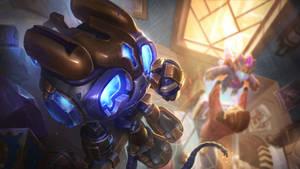 Hextech Amumu - League of Legends Splash Art