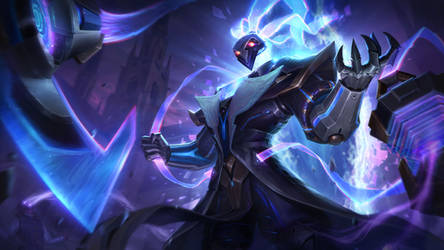 Pulsefire Thresh - League of Legends Splash Art