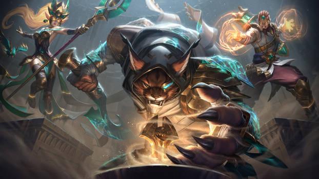 Guardians of the Sand - Rengar, Janna, and Ryze Sp
