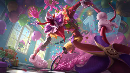 Surprise Party - Fiddlesticks - Splash art League
