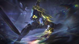PsyOps Zed - Splash Art League of Legends