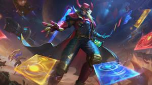 Odyssey Twisted Fate - League of Legends Splash Ar