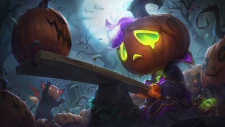 Pumpkin Prince Amumu - League of Legends Splash