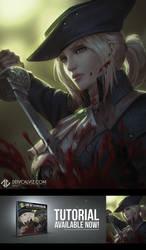 Lady Maria - Bloodborne Fan Art Tutorial