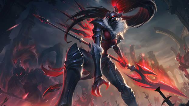 Marauder Kalista - Splash Art League of Legends