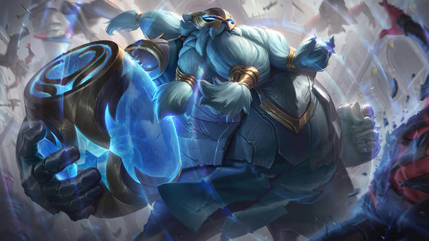 Warden Gragas - Splash Art League of Legends