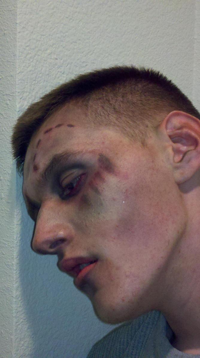 Zombie Face Paint Zombie Face Paint