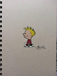 Inktober: Day 1: Calvin