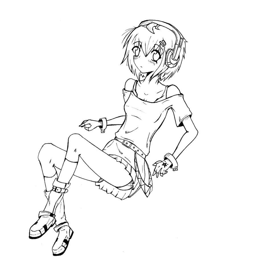Line Art Practice : Line art manga practice wip by coffeezomboy on deviantart