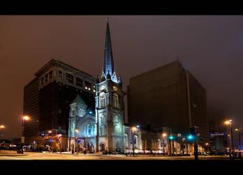 The old stone church by BillyRWebb