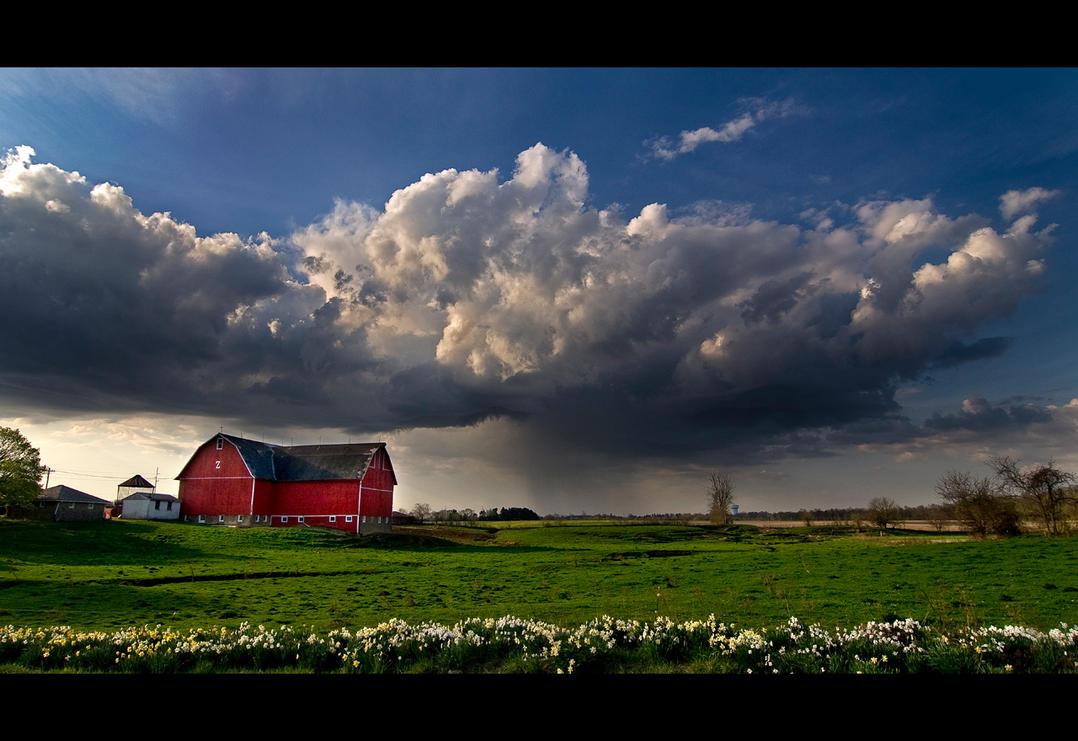 a spring storm by BillyRWebb