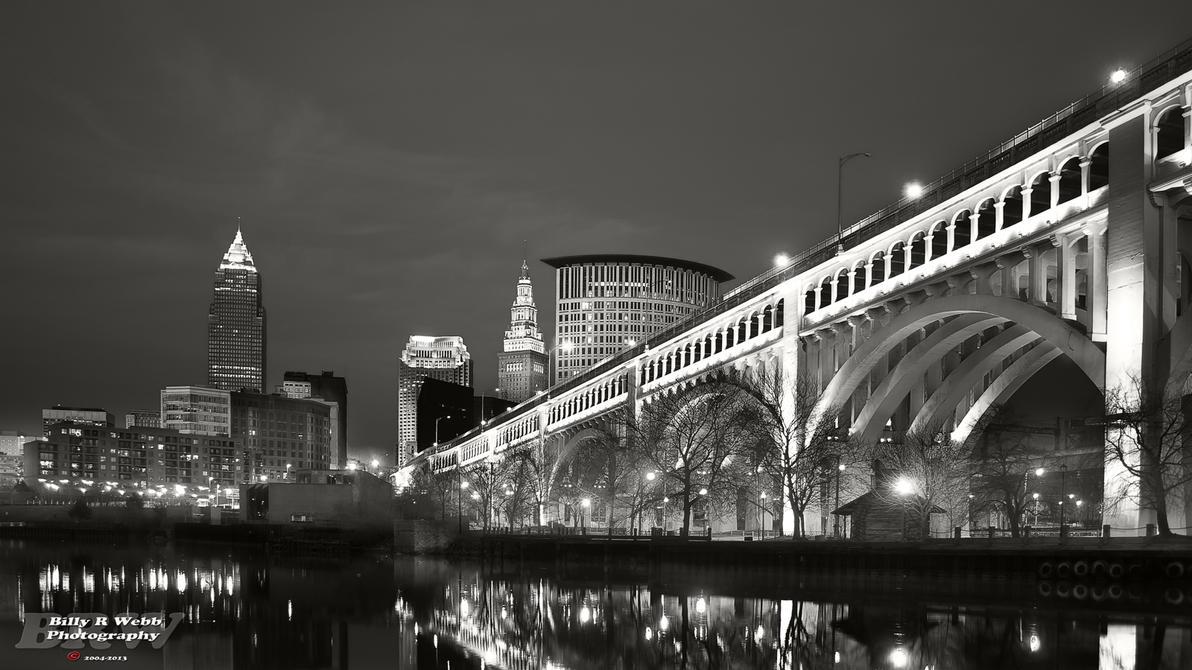 City at night by BillyRWebb