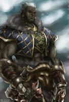 Lineage II - Orc Tyrant by jubaka
