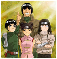 Gai's Team! by jubaka
