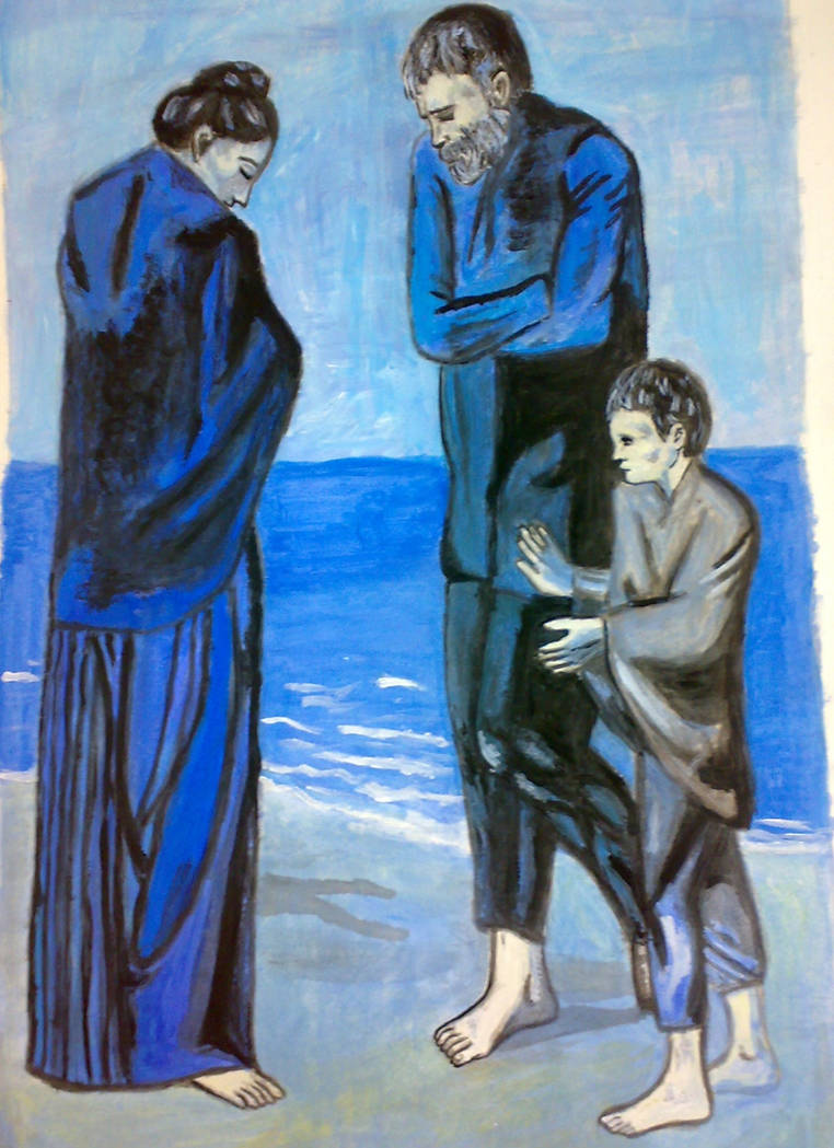 Poveri In Riva Al Mare Picasso By Sronnies On Deviantart