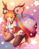 Merry Belated Christmas Osana chan by eisjon