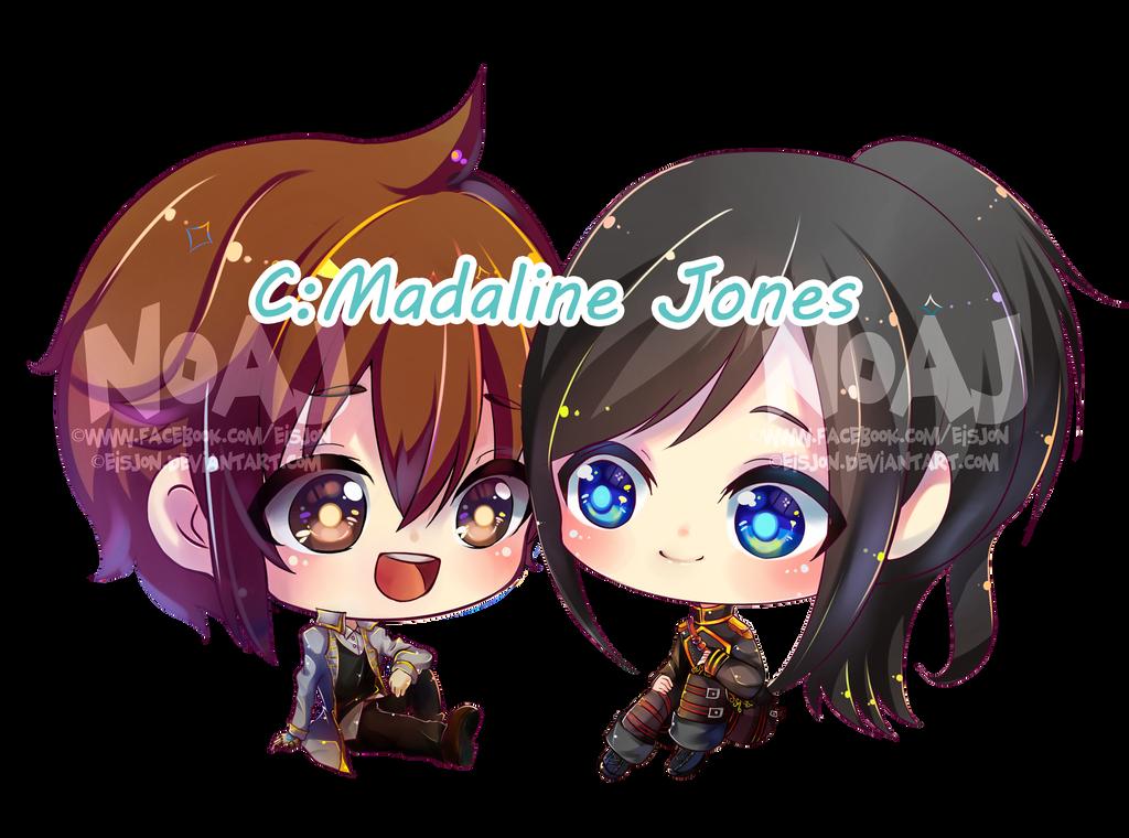 c: MadalineJones Steampunk - Logan v Clara by eisjon