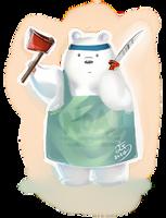 I love Ice Bear by eisjon
