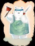 I love Ice Bear