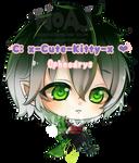 Commission :x-Cute-Kitty-x -Opheodrys by eisjon