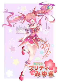 Magical girl Miyuki-chan
