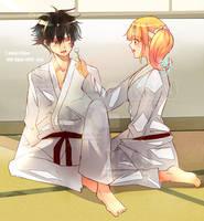 Budo Masuta X Raibaru Fumetsu martial art club