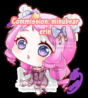 Commission :minubear- Erin