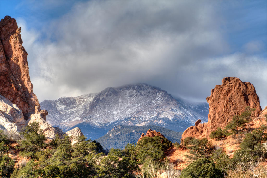 Toward the Peak by GradyArt