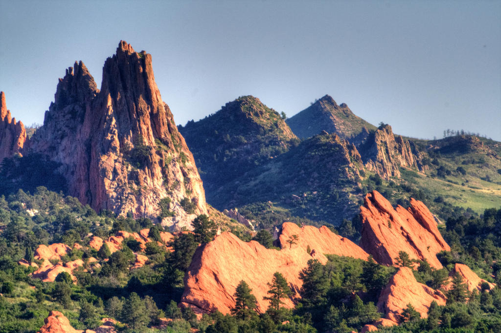 Morning Rocks by GradyArt