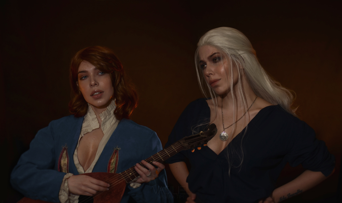 Jaskier and Geralt
