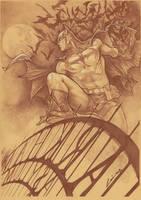 Batman -Emilio Laiso by alucard3999