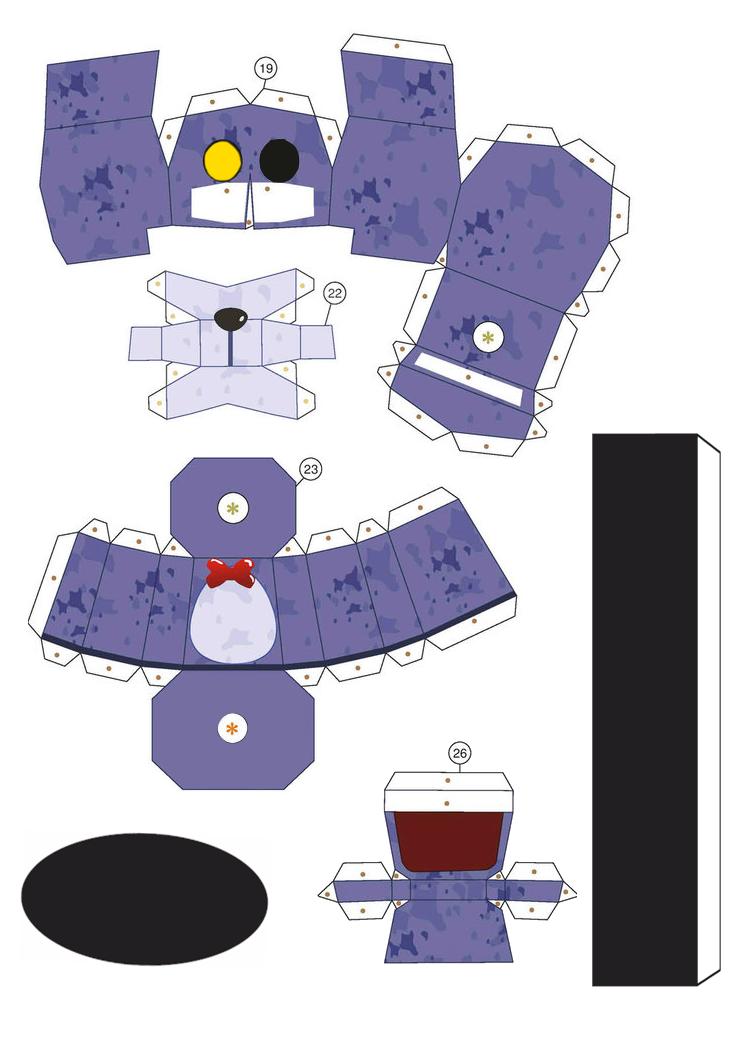FNAF PaperCraft Bonnie in the corner by MolegulasDetonados on ...