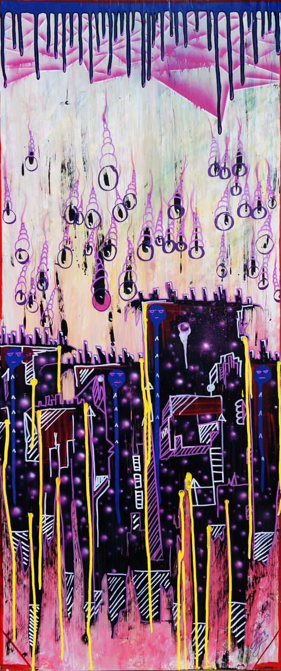 Urban Sunset Paranoia by ziplague