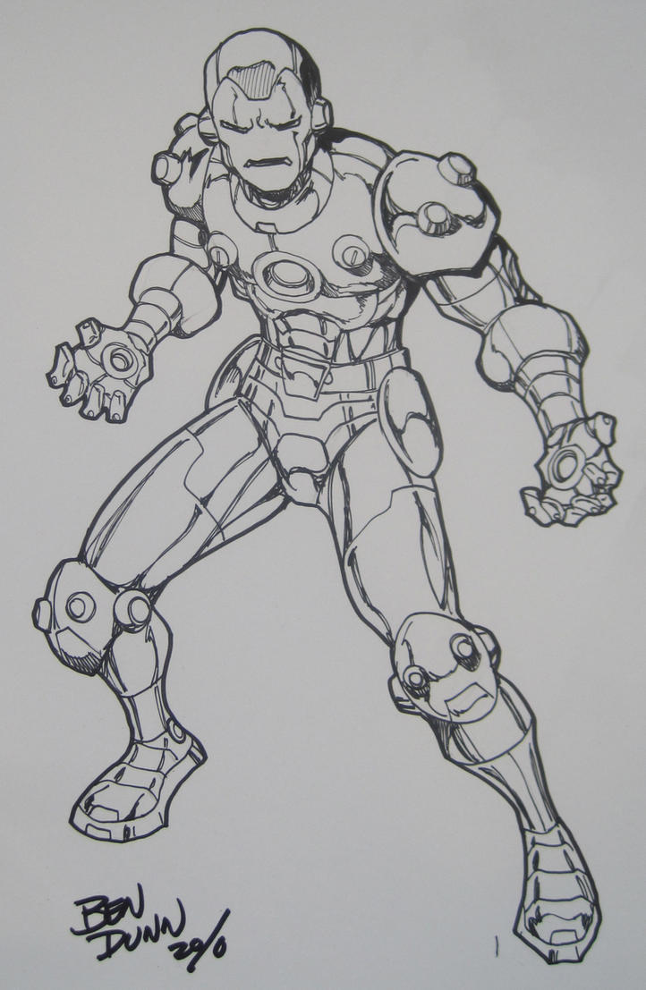 IRONMAN commission 1 by Dogsupreme