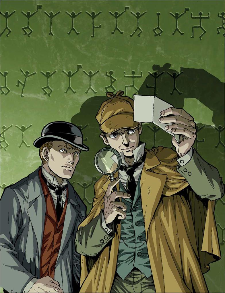 Sherlock Holmes Dancing Men by Dogsupreme