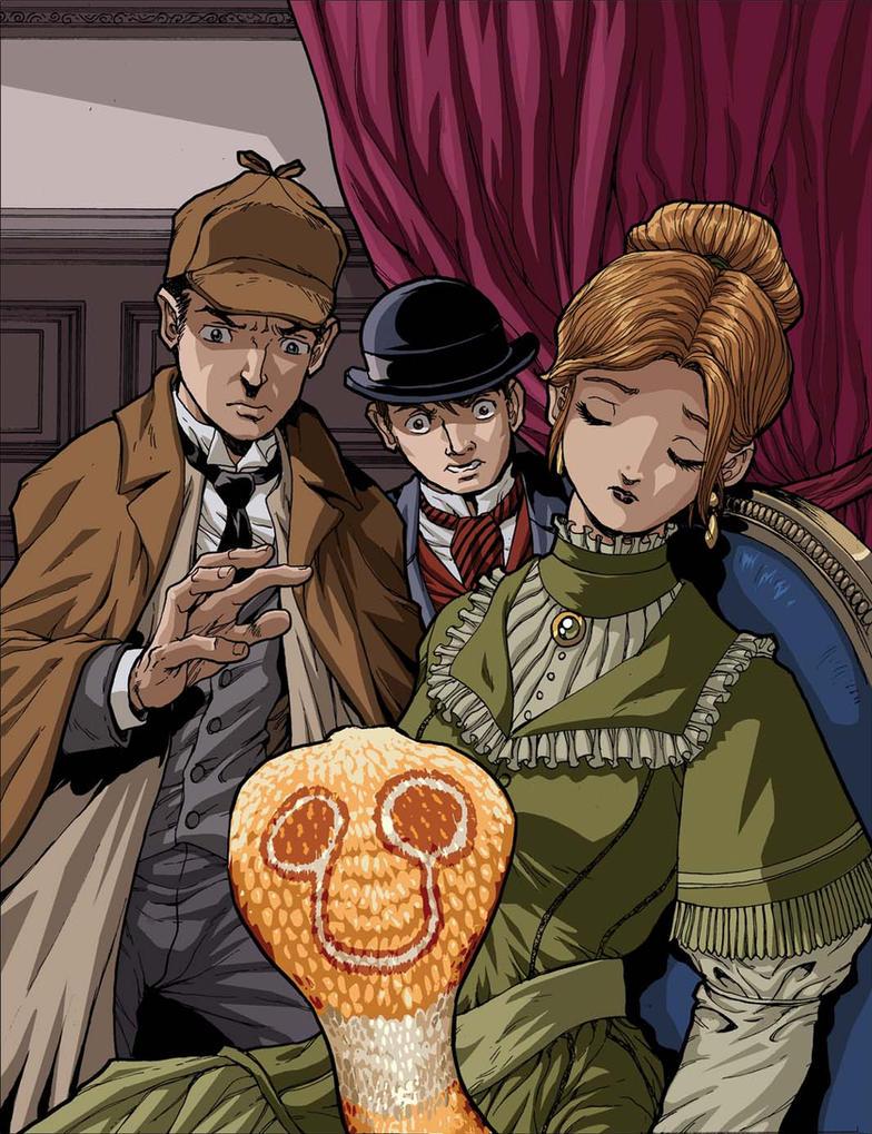 Sherlock Holmes Speckled Band by Dogsupreme