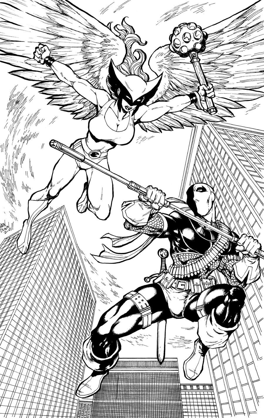 coloring pages of deathstroke costume - photo#18
