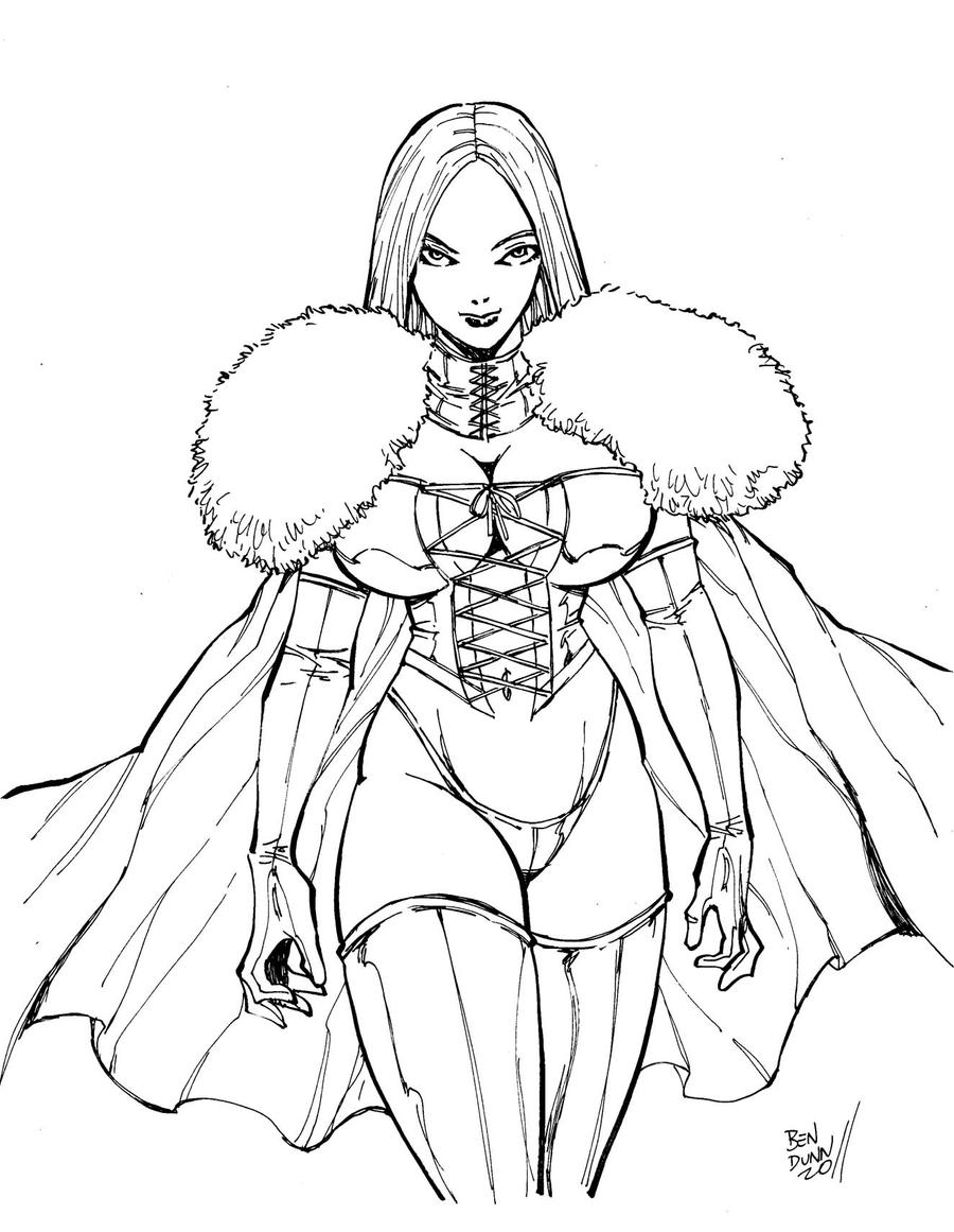 X-Men White Queen by Dogsupreme