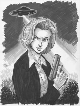 Scully from X-Files