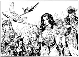 Airboy cover double page spread