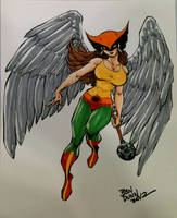 Hawkgirl commission by Dogsupreme