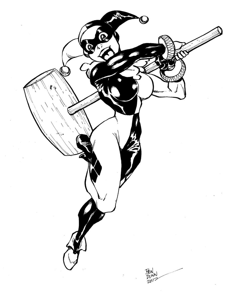 Harley Quinn commission by Dogsupreme