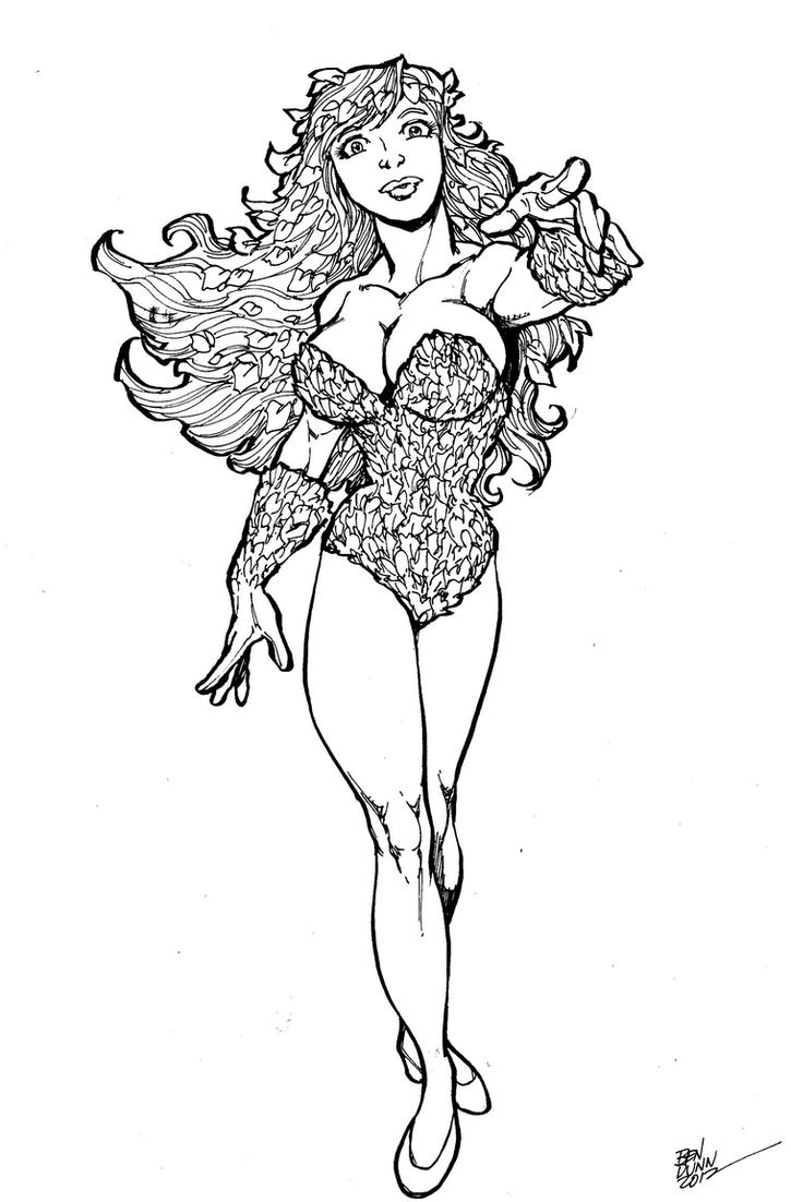 Poison Ivy Commission by Dogsupreme
